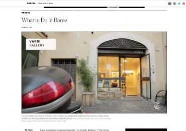 NEW YORK TIMES – Varsi